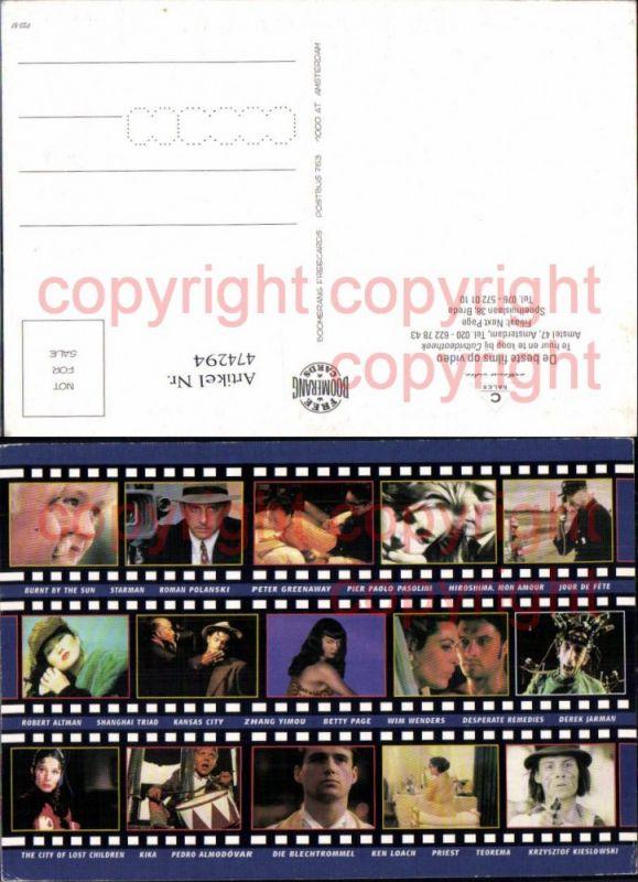 474294,Film Reklame Robert Altman Roman Polanski Betty Page Priest Starman