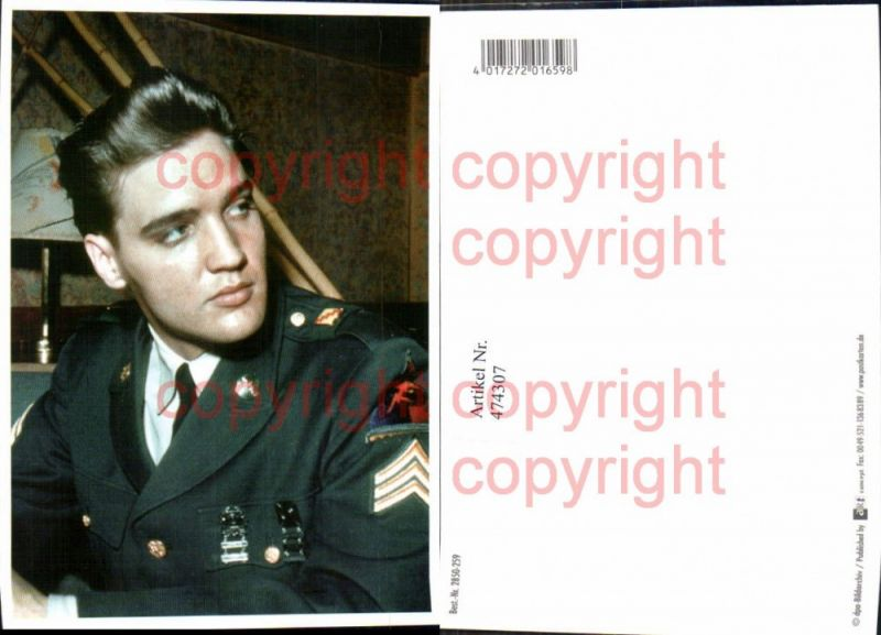 474307,Musiker Elvis Presley Uniform