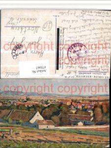 475067,Künstler AK St. Lolek Kromeriz Kremsier Totale Feldpost