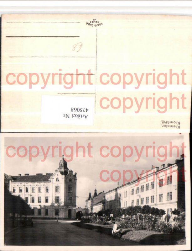 475068,Kromeriz Kremsier Restaurace Gebäude