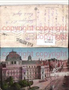 475082,Plzen Pilsen Divadlo a Ferdinandova trida Theater