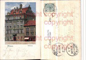 475089,Pilsen Plzen Rathaus Gebäude