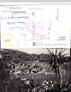 480788,Monaco Monte-Carlo Vue generale Totale Palmen