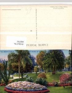 480795,Monaco Monte-Carlo Les Jardins du Casino Garten Park