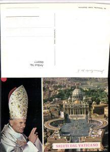 480977,Vatican Vatikan Petersplatz Papst Johannes Paulus pp II