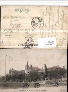 481520,China Shanghai Menument of S.M.S. Iltis Monument
