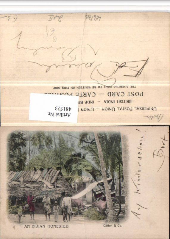 481523,India Indian Homested Hütte Volkstypen