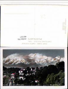 481527,India Darjeeling Kinchinlunga Kanchenjunga Bergkulisse
