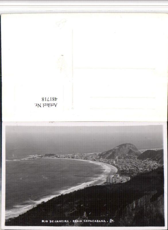 481718,Brazil Rio de Janeiro Praia Copacabana Totale Strand