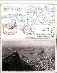 481720,Brazil Rio de Janeiro Vista aerea do Corcovado Totale