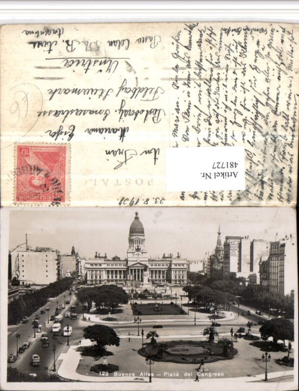 481727,Argentina Buenos Aires Plaza del Congreso Platz