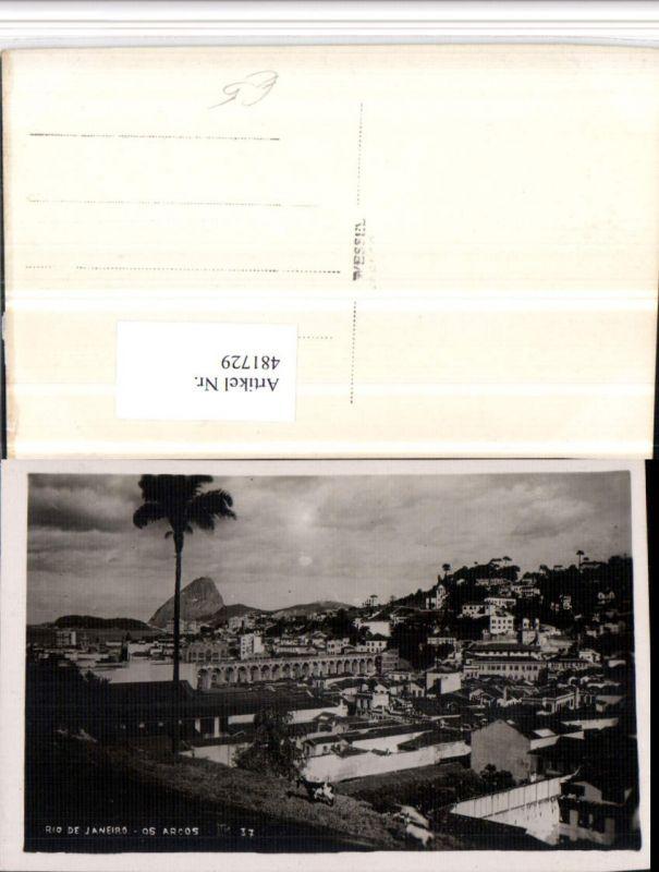 481729,Brazil Rio de Janeiro Os Arcos Teilansicht