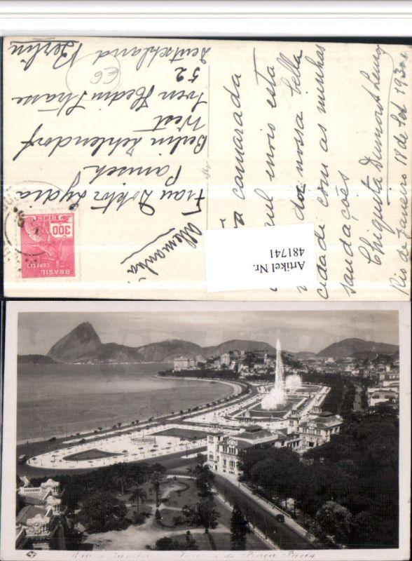 481741,Brazil Rio de Janeiro Praca Paris Teilansicht Park