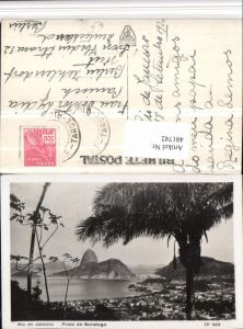 481742,Brazil Rio de Janeiro Praia de Botafogo Totale Palme