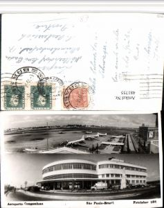 481755,Brazil Sao Paulo Aeroporto Congonhas Flughafen Mehrbildkarte