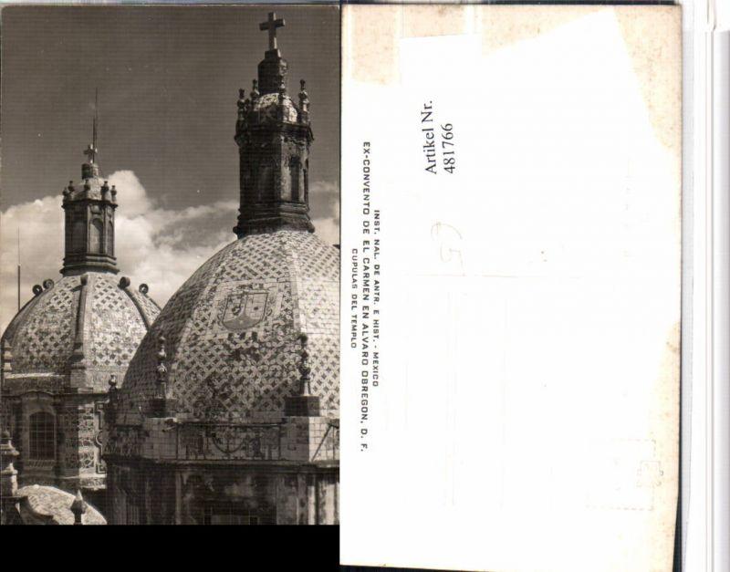481766,Mexico City Ex-Convento de el Carmen en Alvaro Obregon Kuppel