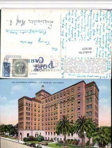 481829,California Los Angeles Hospital Gebäude