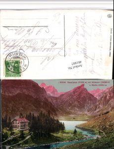 481887,Schwende Seealpsee See m. Altmann Bergkulisse Kt Appenzell
