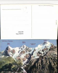 481941,Eiger Mönch Jungfrau b. Grindelwald Bergkulisse Kt Bern