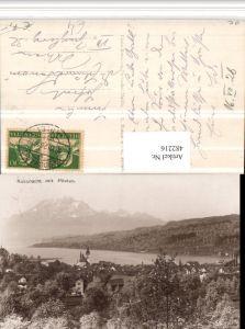 482216,Küssnacht Totale m. Pilatus Bergkulisse Kt Schwyz