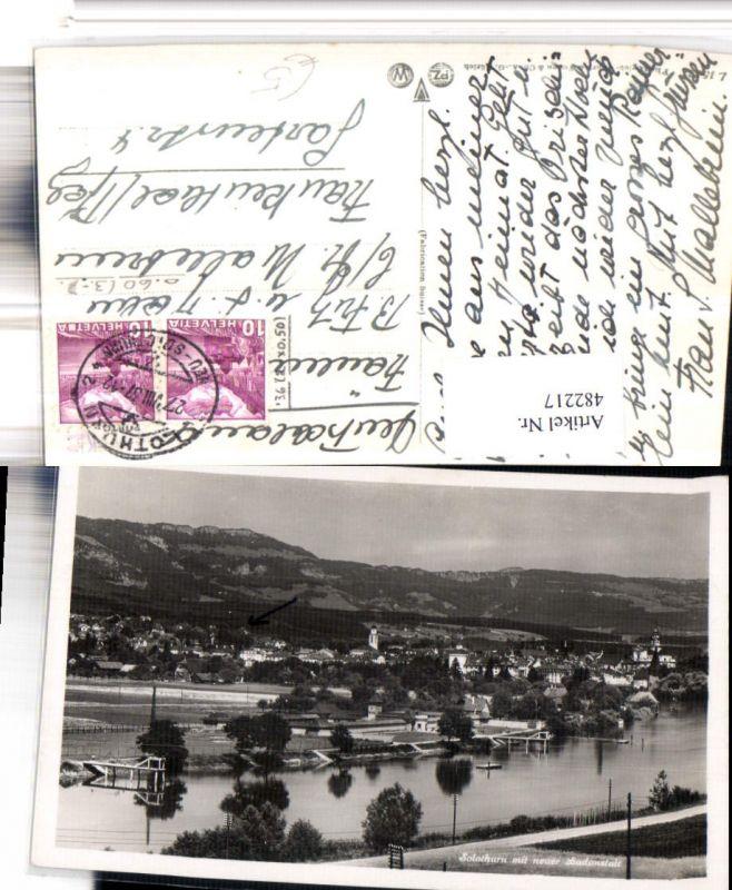 482217,Solothurn Totale m. Badeanstalt