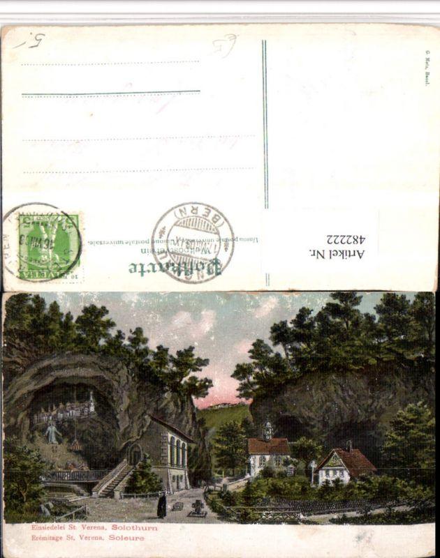 482222,Solothurn Einsiedelei St. Verena Kapelle