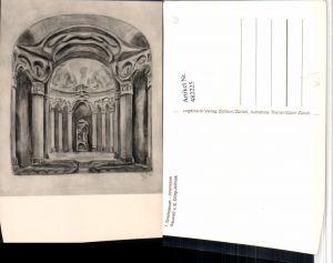 482225,Künstler AK E. Oling-Jellinek Dornach Goetheanum Kt Solothurn