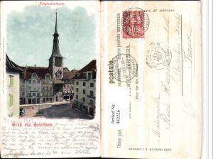 482226,Gruß aus Solothurn Zeitglockenturm Turm