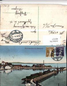 482317,Romanshorn am Bodensee Hafen Partie Kt Thurgau