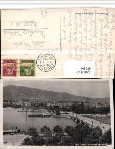 482495,Zürich Teilansicht Quaibrücke Brücke m. Uetliberg