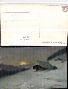 485893,Künstler AK Fr. Reiss Winter im Schwarzwald pub Elchlepp 2