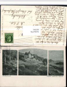 485941,Künstler AK H. Darnaut Droben stehet die Kapelle Landschaft