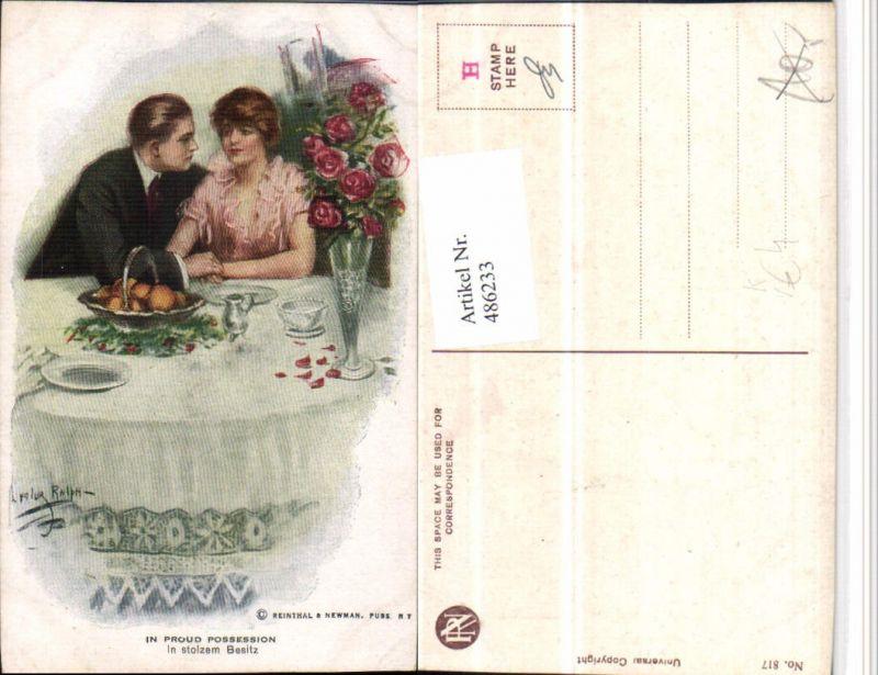 486233,Reinthal & Newman 817 Künstler Lester Ralph In stolzem Besitz Liebe Paar