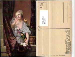 486354,Stengel Co 29294 Künstler Jean Baptiste Greuze Kusshand Frau
