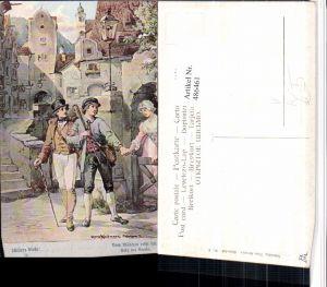 486461,Theo Stroefer 643/2 Künstler H. Kaufmann Stadt Männer Schillers Glocke
