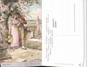 486464,Theo Stroefer 643/4 Künstler H. Kaufmann Liebe Paar Kuss Schillers Glocke
