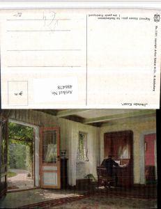 486478,Asco AK 11017 Künstler Sigvard Hansen Studierzimmer Tür