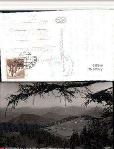 486859,Bürgeralpe b. Aflenz geg. Eisenerzer Alpen Bergkulisse