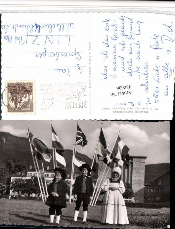 488606,Bregenz Bregenzer Flaggenparade Trachten Tracht