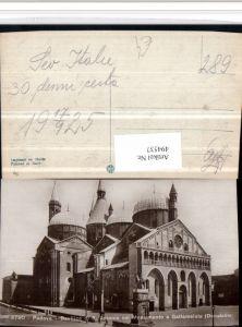 494537,Veneto Padova Basilica S. Antonio col Monumento Gattamelata Kirche