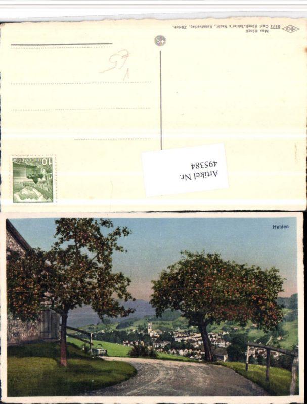 495384,Heiden Totale Wegpartie pub Max Künzli 8777 Kt Appenzell
