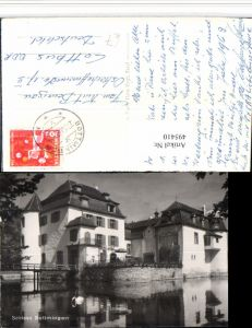 495410,Bottmingen Schloss Kt Basel-Land