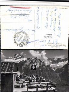 495447,Grindelwald Berg Restaurant First Terrasse Bergkulisse Kt Bern