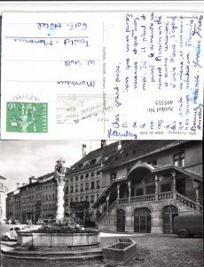 495515,Fribourg Freiburg Hotel de Ville Rathaus Brunnen