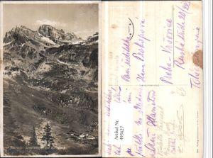 495627,Bannalp Urnerstaffel m. Ruchstock Bergkulisse Kt Nidwalden