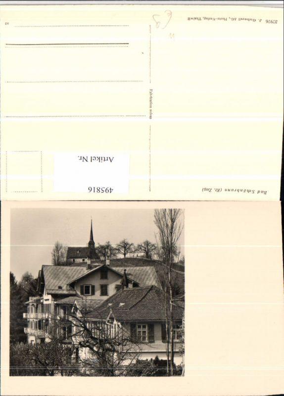 495816,Bad Schönbrunn Kapelle Kirche Kt Zug