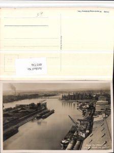 493736,Basel Rheinhafen vom Getreidesilo aus