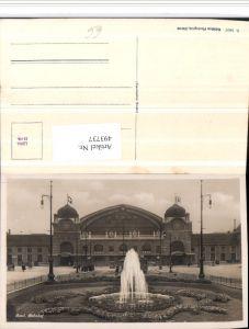 493737,Basel Bahnhof Brunnen