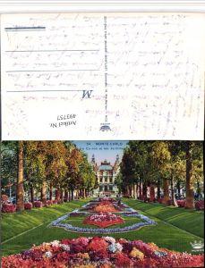 493757,Monaco Monte-Carlo Le Casino et les Jardins