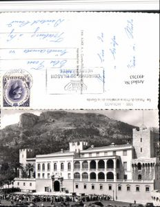 493763,Monaco Le Palais du Prince et releve de la Garde Fürstenpalast